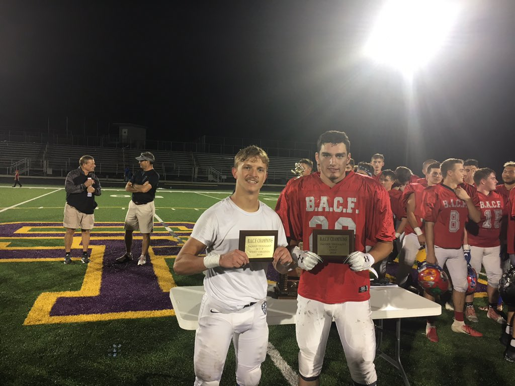 Congrats the the BACF All-Star MVP's! Boone Jones Ohio's MVP and Josh Kay WV's MVP, and Both Future Pioneers!!! #PioNation #TheFutureIsBright