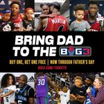 Image for the Tweet beginning: 8 days until @thebig3!!! Buy