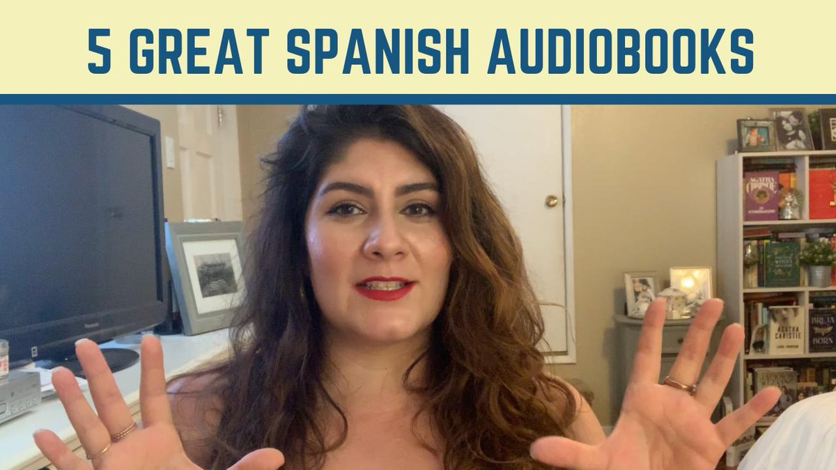 Vanessa discusses some of her favorite Spanish audiobooks: ow.ly/zMta50uE96H