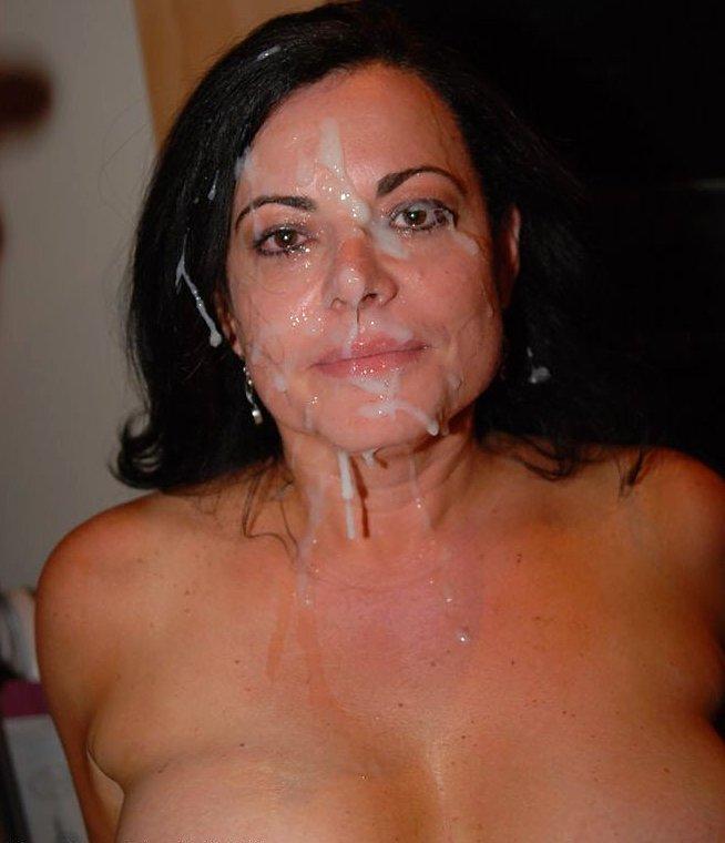 Handjob Cumshot Mom Facial