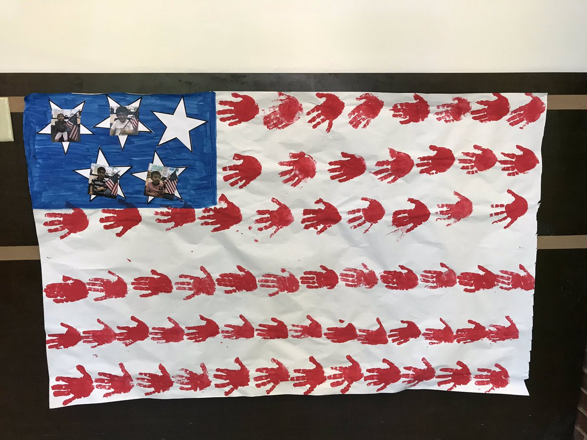 Happy flag day from pre k! <a target='_blank' href='http://search.twitter.com/search?q=KWBPride'><a target='_blank' href='https://twitter.com/hashtag/KWBPride?src=hash'>#KWBPride</a></a> <a target='_blank' href='http://twitter.com/BarrettAPS'>@BarrettAPS</a> <a target='_blank' href='https://t.co/b4tjqiIr1u'>https://t.co/b4tjqiIr1u</a>