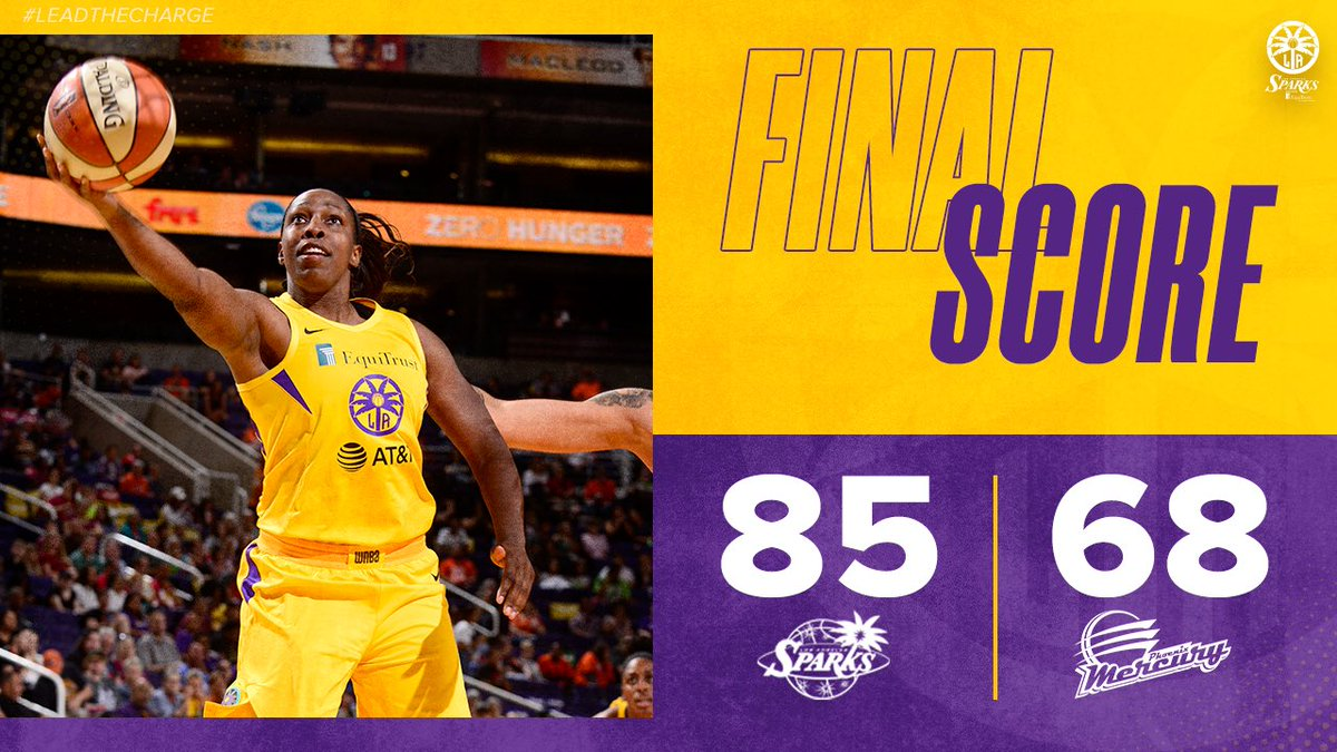 Handled business in the desert😤  #GoSparks #LeadTheCharge