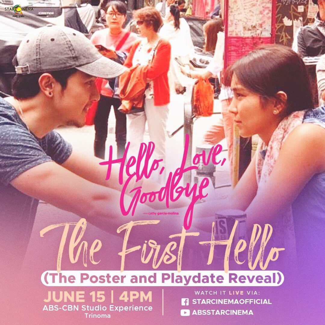 were on a roll. laters in ABSCBN Studio Experience. #HLGTheUnboxing #HelloLoveGoodbyePoster