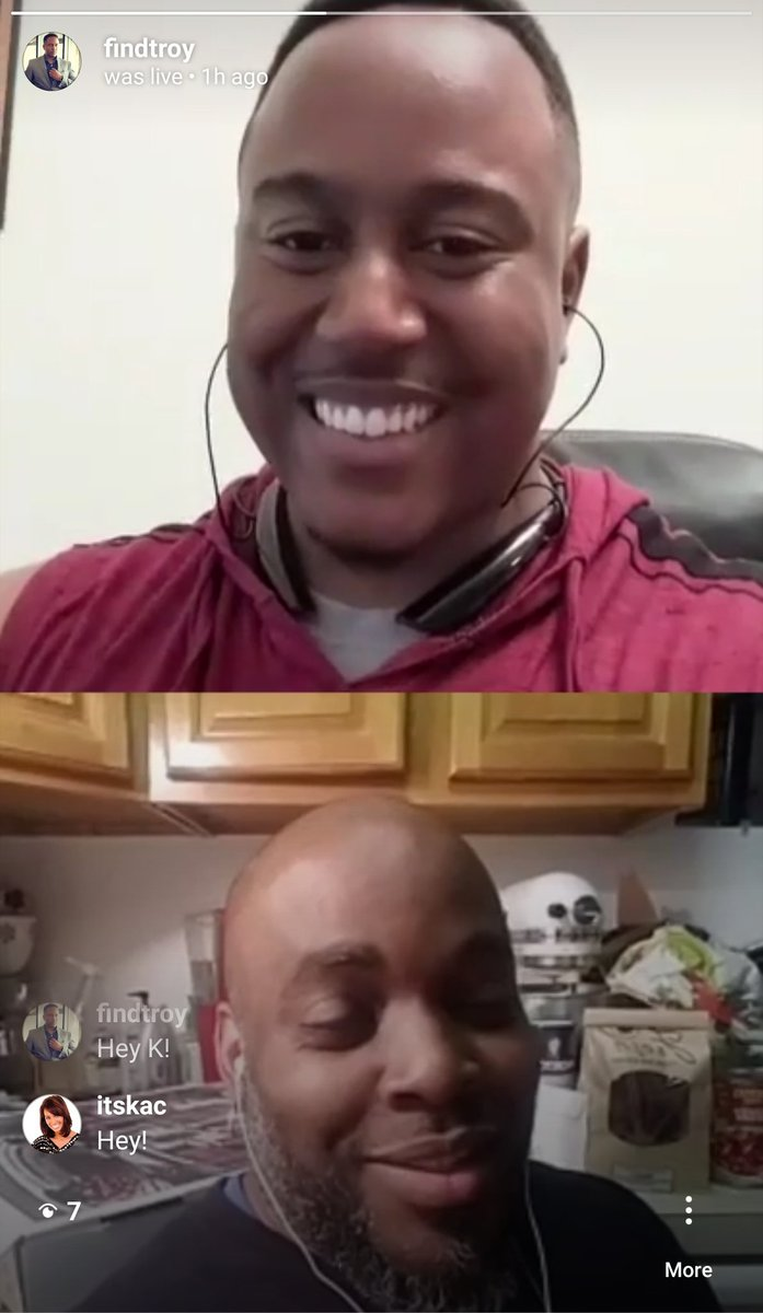I HAD A BLAST talking to my mentor & dear friend/big brother @Mr_McFly on IG Live!  We talked on  - Marketing - State of Social Media - #BrandChat - How amazing @mariaduron is - Importance of community - #SMWL19 - Speaking Tips   #FindTroy (FF 1/4 in)  👉 http://Instagram.com/FindTroy