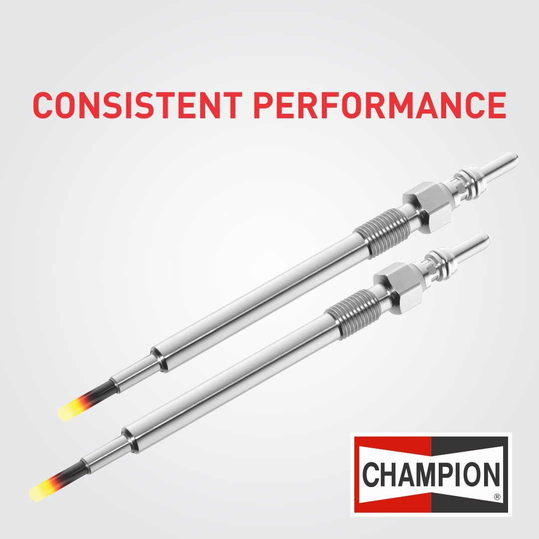 Champion brand offers wide range of glow plugs . Explore about it on https://t.co/h1vvXm32UQ  #ChampionParts https://t.co/dOMSQFnf3Y