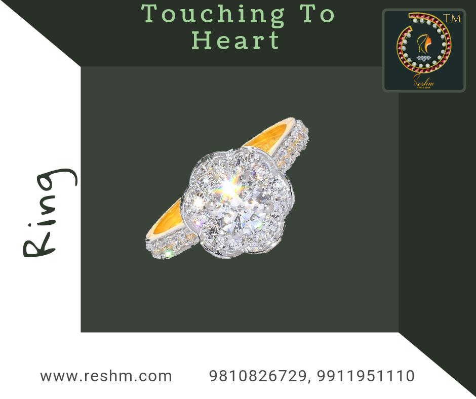 Touching To Heart Ring Shop now :  or Visit our store @ 1st Floor Next to Shoppers Stop GIP Noida #reshamm #Lightweightgoldjewellery #jewelleryinnoida #jewelleryindelhi #jewelleryinncr #goldlovers #jewelleryfans #fashion #designerjewellery