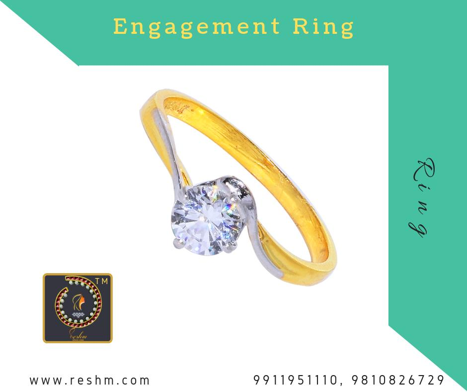 Engagement Ring by Reshamm Shop now :  or Visit our store @ 1st Floor Next to Shoppers Stop GIP Noida #reshamm #Lightweightgoldjewellery #jewelleryinnoida #jewelleryindelhi #jewelleryinncr #goldlovers #jewelleryfans #fashion #designerjewellery