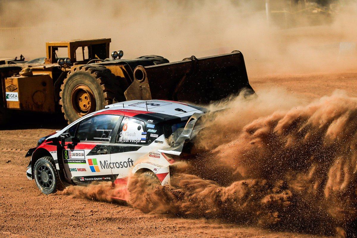 ⏱ Taking the lead of @Rally_d_Italia! 💪 O/A standings after SS12:  1️⃣ TÄNAK 2:20:39.9 2️⃣ Sordo +6.4 3️⃣ Suninen +27.1 4️⃣ Evans +55.0 5️⃣ Mikkelsen +57.6 6️⃣ Meeke +1:08.4 7️⃣ Neuville +2:00.3 8️⃣ Lappi +2:20.4 9⃣ Rovanperä +5:06.2 🔟 Hänninen +5:22.4  #RallyPortugal #WRC #GoOtt