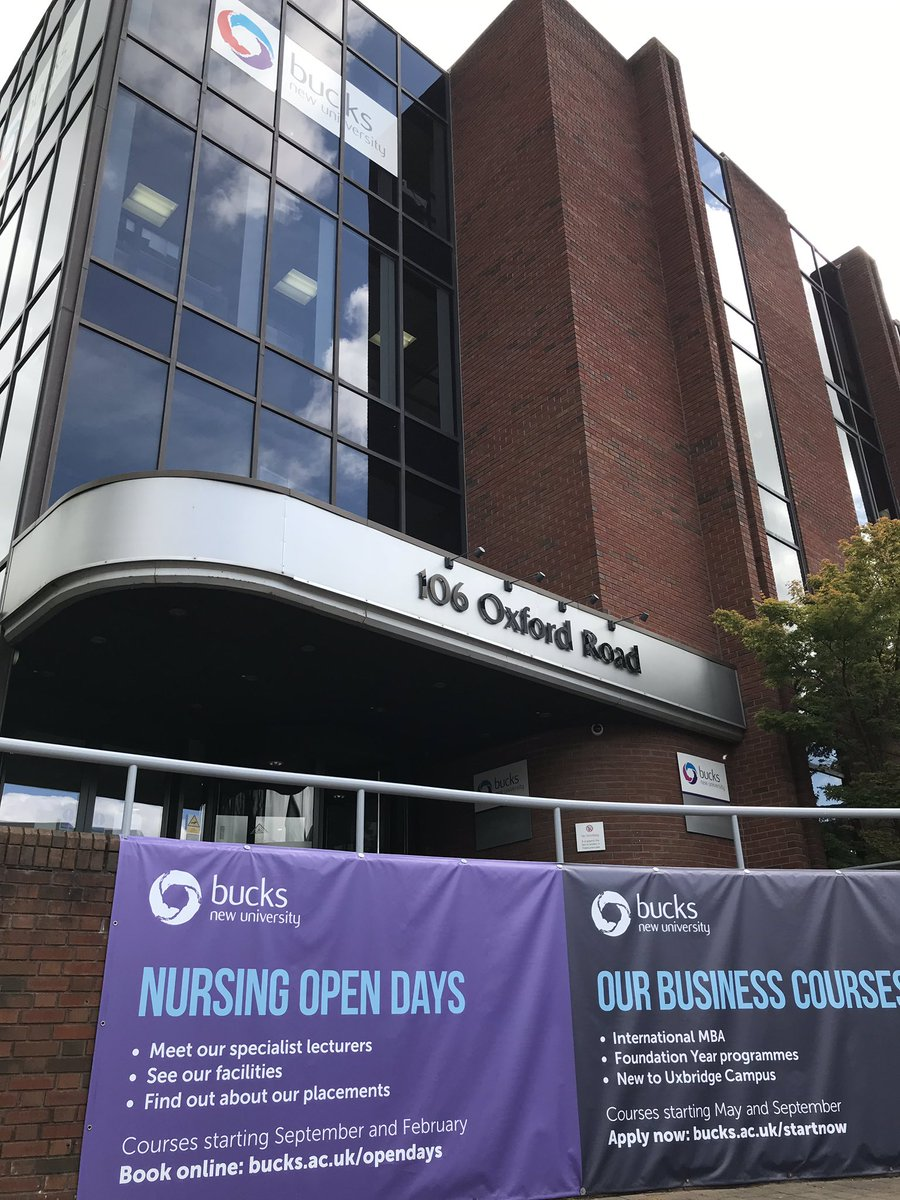 It's about to kick off here at the Uxbridge Campus for our nursing Open Day. Come join us! We are here until 2pm. Can't wait to see you all 😄 #BucksOpenDay