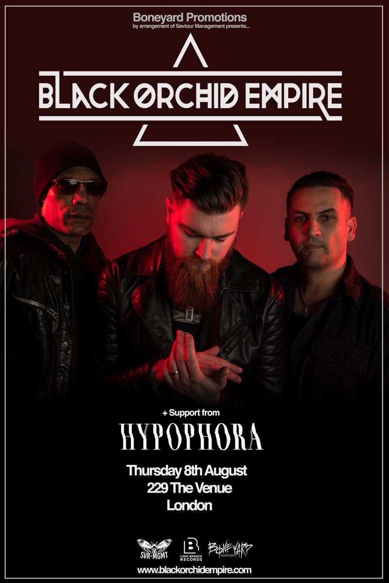 We're back in #London with @orchidempire this summer! @229thevenue // 8th August // Let's go x  Tickets: https://t.co/zdoSbXXovI https://t.co/no0LLsp6g8