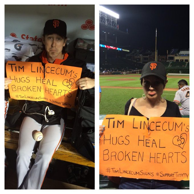 Dear Tim Lincecum, Happy birthday to us both wherever you are.