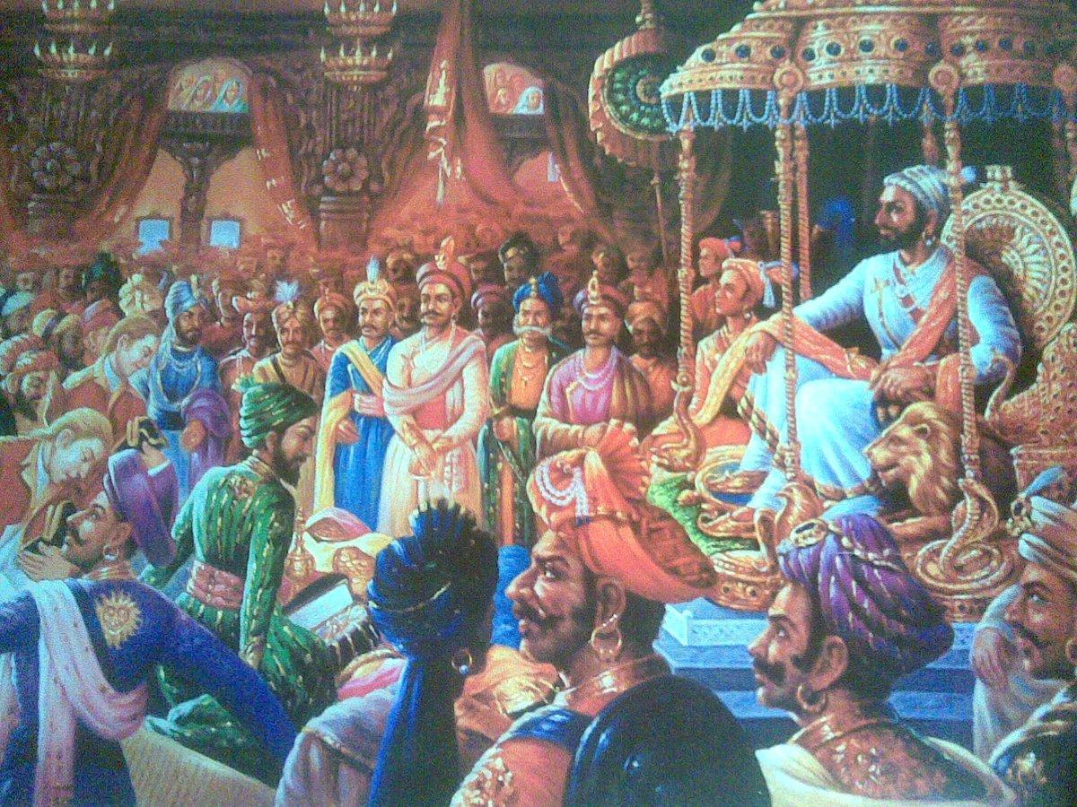 Shivaji Maharaj's coronation on  Jyeshta Shukla Trayodashi was the successful consummation of his efforts for an integral state. That is why we do not call this the anniversary of Shivaji's Empire. We call it #HinduSamarajyaDiwas .