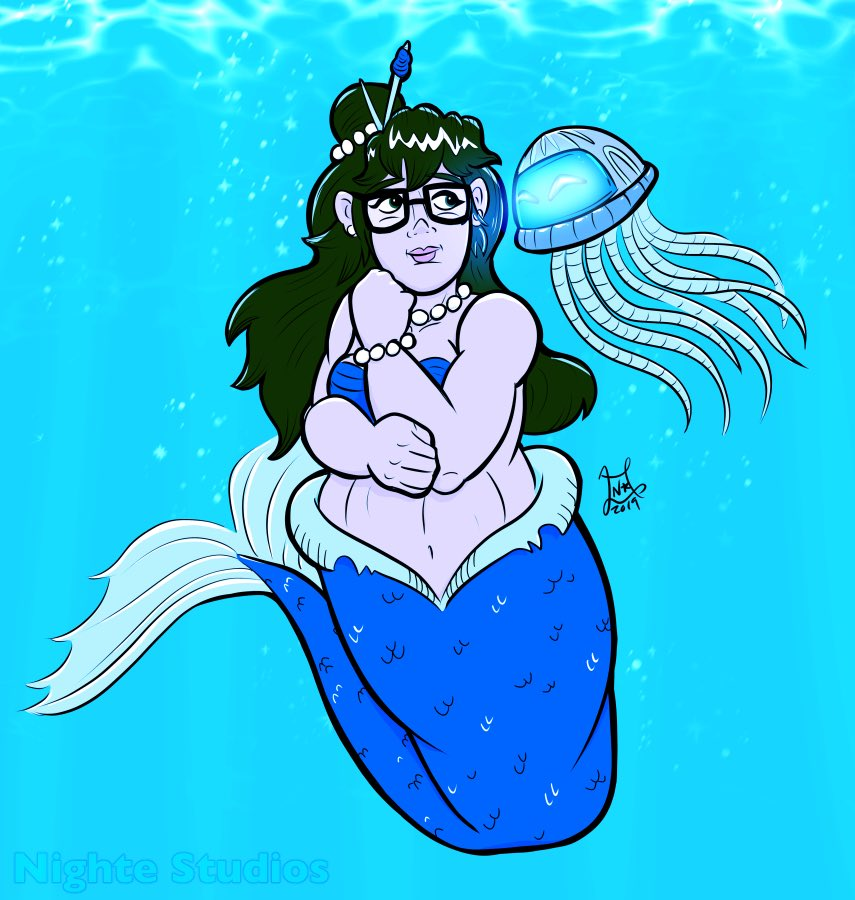 I finally made adjustments to this. I'm more satisfied with the color. It was meant to be for #mermay a mermei....   #mei #Overwatch<br>http://pic.twitter.com/7RnEvhEW9V