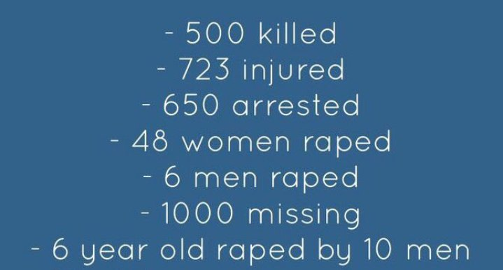 Omar Al Bashir said break the women, so theyre taken and raped, life or death, n then the men. Hundreds of bodies are flooding on Nile and people are shot everywhere, Sudan is now blackout and reporters arent allowed entrance, SPREAD. #SudanMassacre #IAmTheSudanRevolution