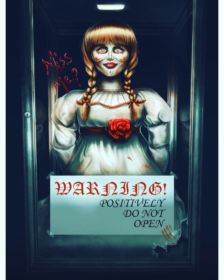 Watching Annabelle CreationI bet Chucky Banged herI wonder since both new films are being released around the same time which one will be better? #annabelle #annabellecreation #annabellecomeshome #TheConjuring #conjuring2 #theconjuring #thenun #annabelldoll pic.twitter.com/XG1r5EUw7S