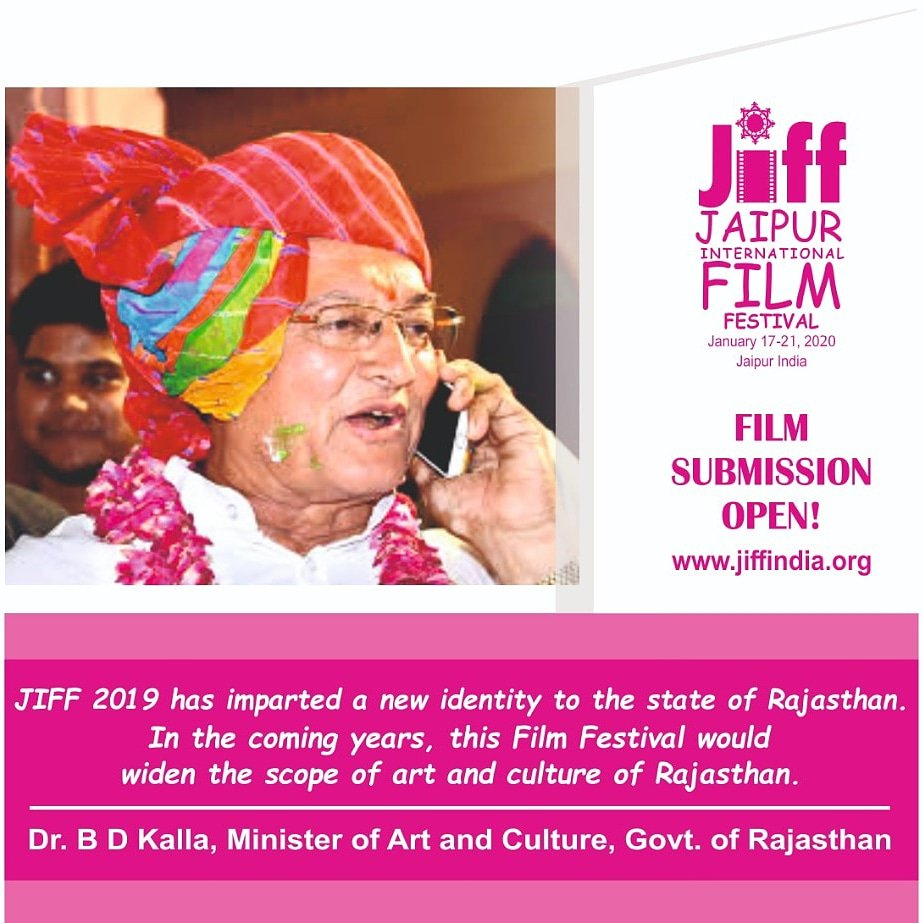 Throwback to JIFF2019 - Dr. B.D Kalla  For more details visit our website-  *http://www.jiffindia.org * #jaipur #jaipurfilmfestival #jaipurinternationalfilmfestival #Cannes2019 #CannesFilmFestival #Trend #TrendingNow #jiff #jiff2019