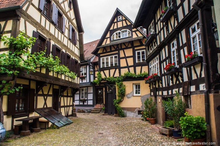 Gengenbach is een prachtig vakwerkjuweeltje in het Zwarte Woud. ❤️ Schönes Wochenende! #vakantie #DuitslandDichtbij 💌