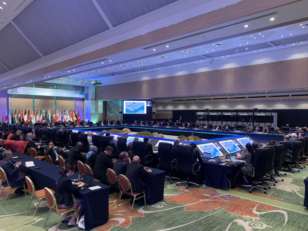 Just spoke to #G20 Energy Ministers about key developments in energy markets and how G20 leadership can be pivotal for scaling up #hydrogen. A big thank you to Japan for hosting these important discussions. You can see my presentation here https://www.slideshare.net/internationalenergyagency/iea-executive-director-presentation-to-g20-energy-ministers-session …