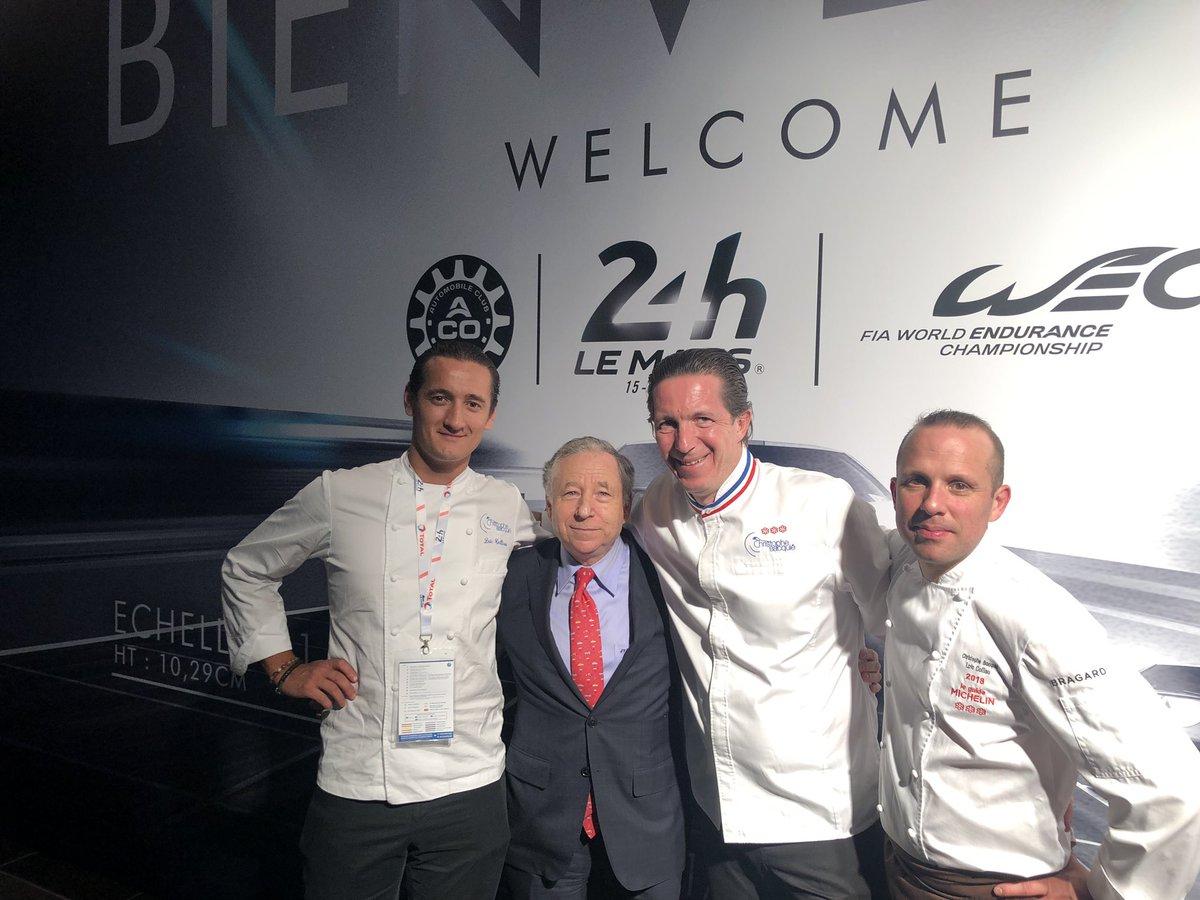 Merci à Christophe Bacquié et à son équipe pour le superbe dîner de l'ACO organisé la veille des @24heuresdumans