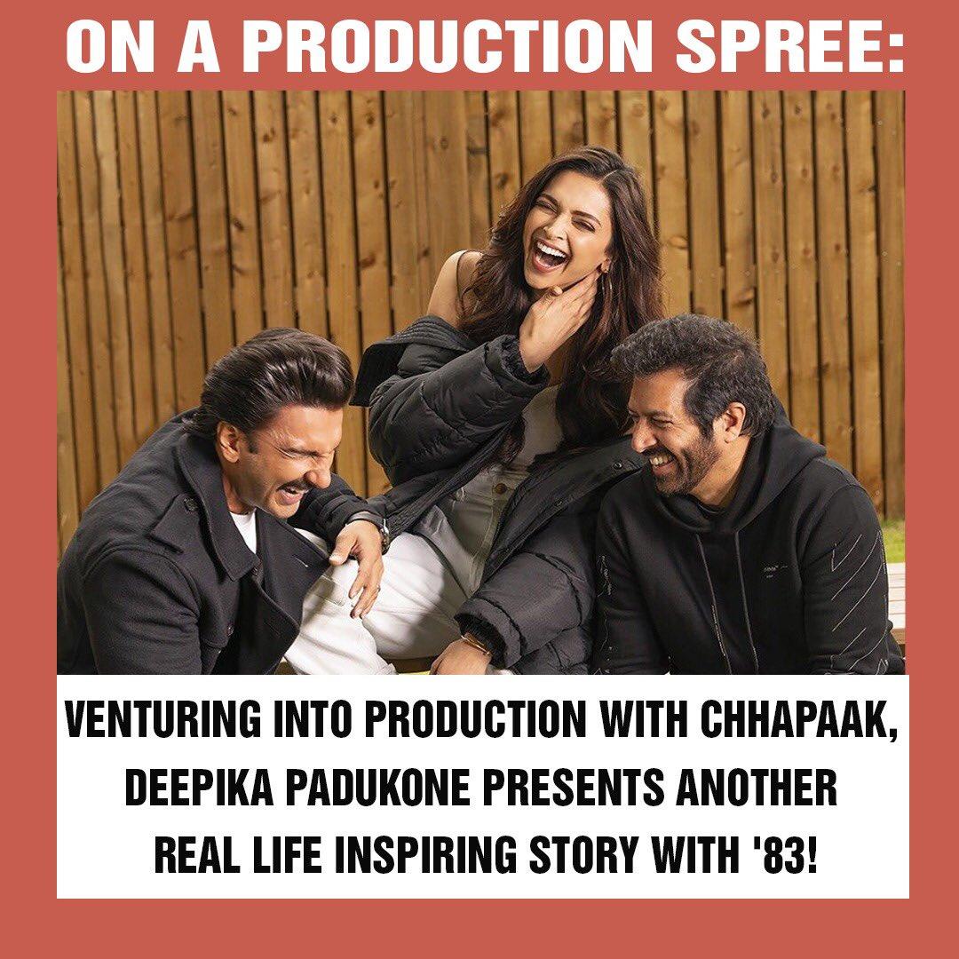 Are you excited to see @deepikapadukone in #83TheFilm ?♥️ #DeepikaPadukone