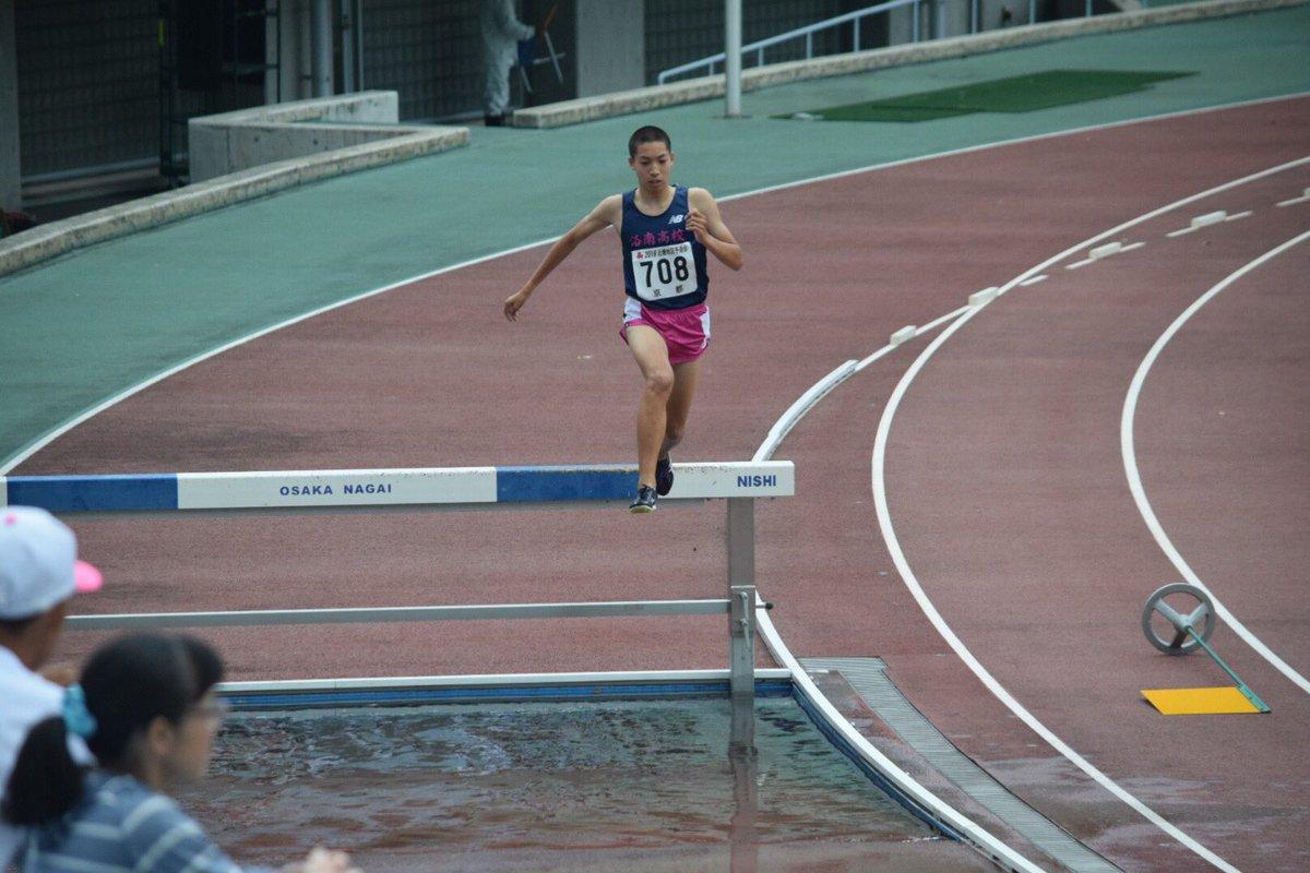 @namizakiayane  三浦龍司が8分39秒49で高校新記録‼️  #3000mSC #洛南高校陸上競技部 #三浦龍司 #高校新記録