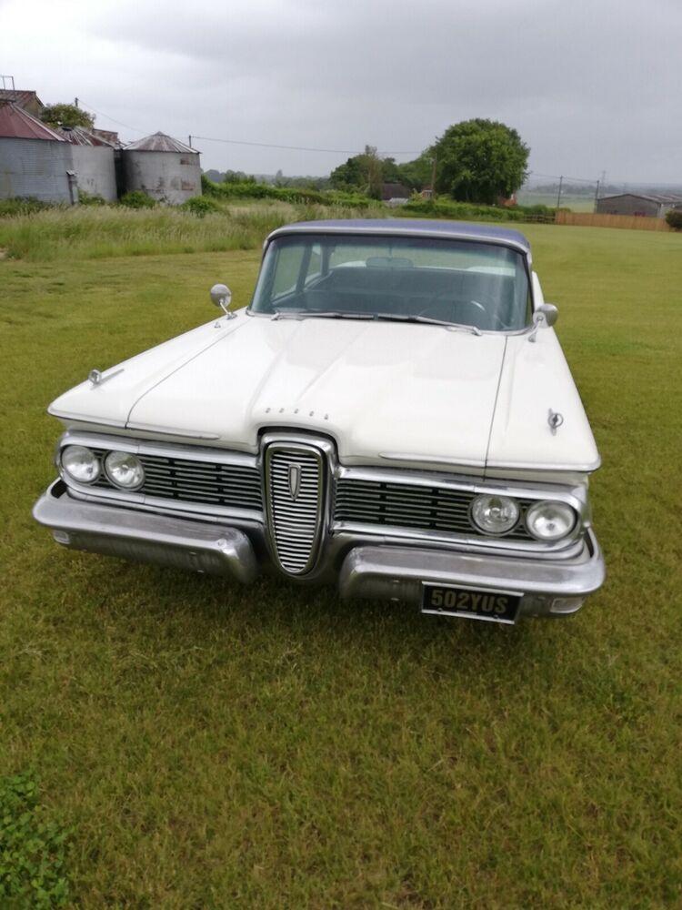 Uk Classic Cars On Twitter Ebay 1959 Ford Edsel Https T Co D0n0d7f2zo Classiccars Cars