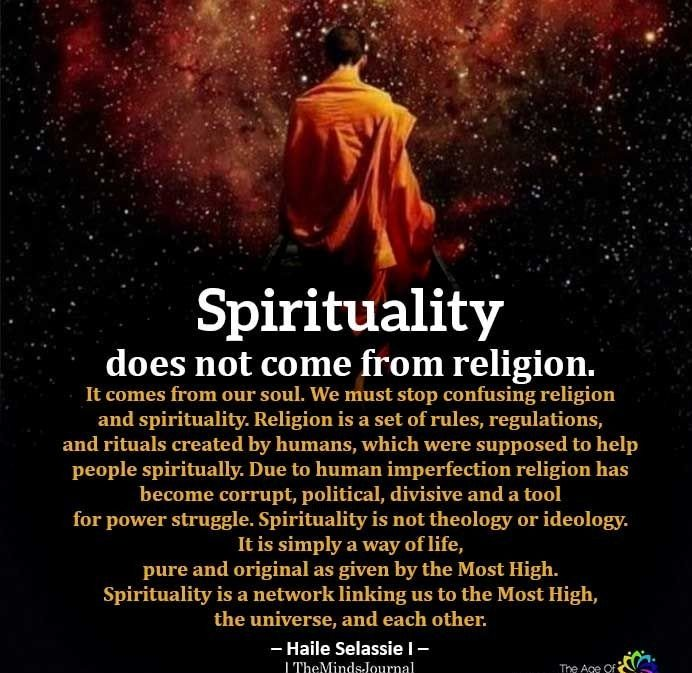 "I believe ""connection to God"" made in any religious form if done properly shud lead one to #Spirituality. It should be our end goal. Being""Religious"" is just like an atom in the universe of Spiritualism. #Sufism is mystical Islamic belief whch took it's shape from #spiritualism"