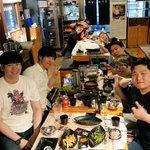 Image for the Tweet beginning: 韓国! ももチョコ配信リスナーのミドリさんがご飯をご馳走してくれました! クッパ、ときど、マゴという組み合わせも懐かしかったw