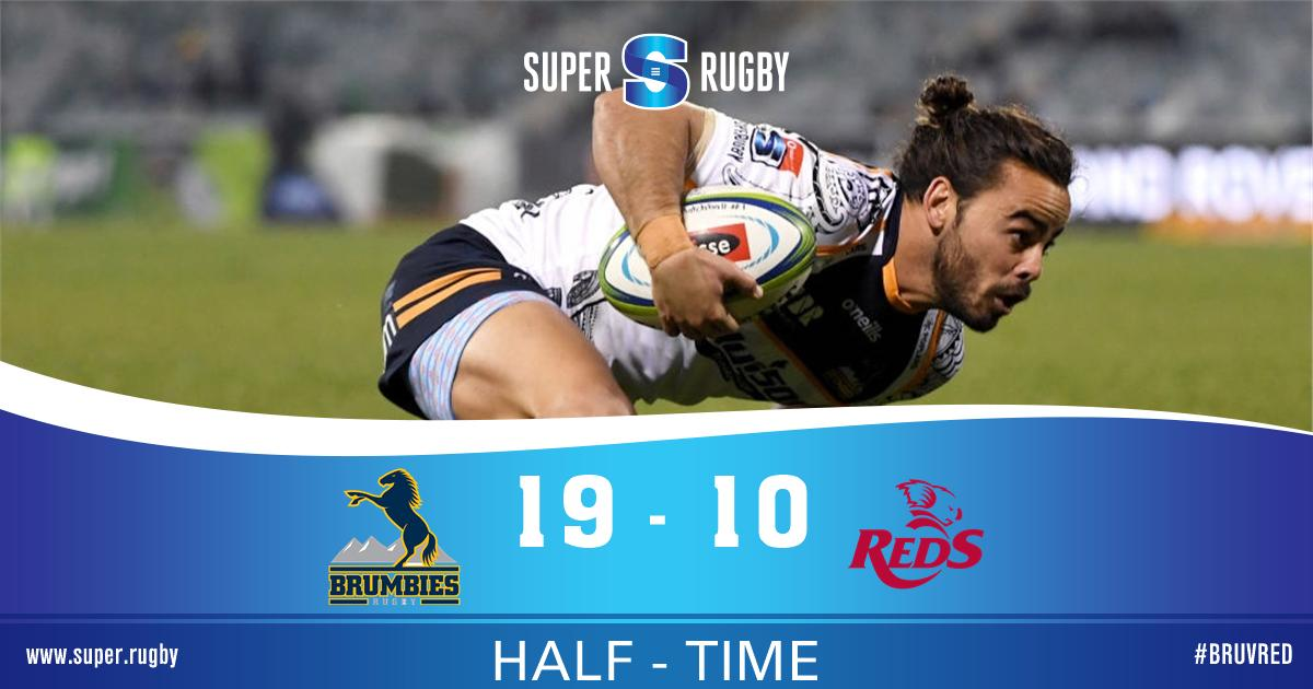 @SuperRugby's photo on HALF TIME