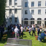 Image for the Tweet beginning: 🌭 BBQ @IsepAlumni en ce