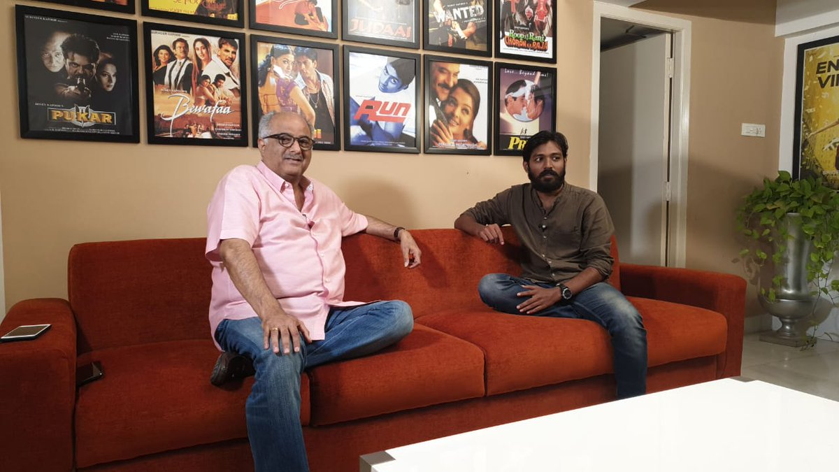 .@BoneyKapoor kick starts Promotions for his debut Tamil Production @nerkondapaarvai starring #AjithKumar Directed by #HVinoth, @thisisysr Musical.<br>http://pic.twitter.com/VGGwunKeZy