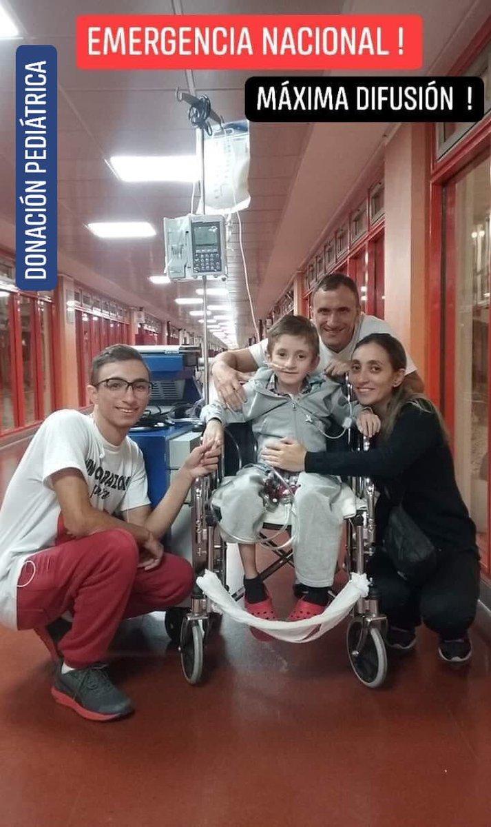 Urgente difundir!!! Matias necesita un trasplante de corazón para seguir viviendo