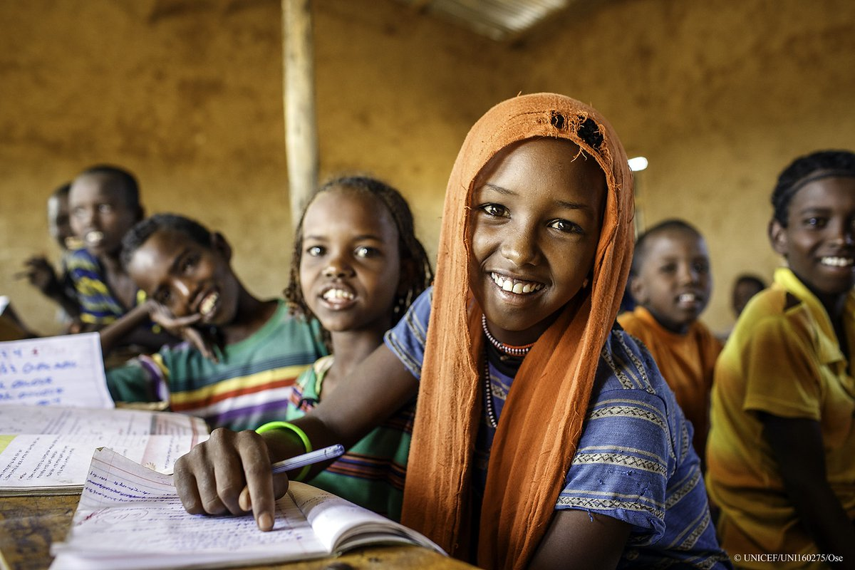 """""""When we invest in the human mind, when learning is achieved, it cannot be taken away or destroyed - @YasmineSherif1. Join @EducannotWait and partners to #Act4Ed to mobilize $1.8 billion for 9 million children & youth in crisis by 2021. Action: act4educationincrisis.org"""