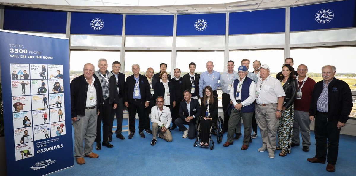 Greetings to all Members of the  @FIA World Motor Sport Council Attended in the @24heuresdumans  #LEMANS24 #WEC