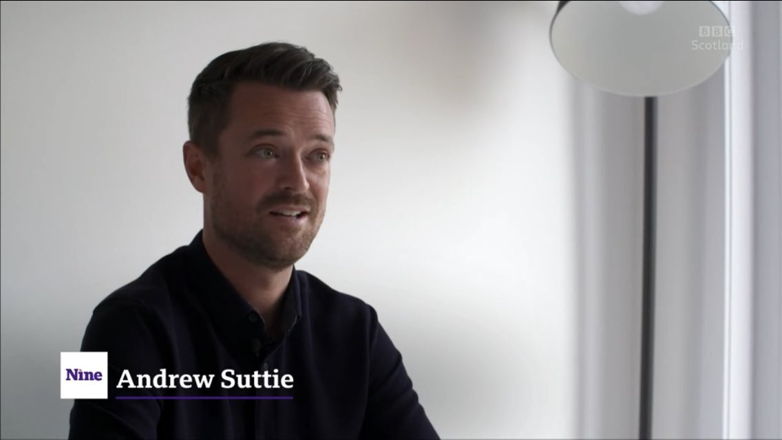 Thank you to @BBCScotNine for telling Andrew's story with this poignant feature in support of our #FathersDay appeal. You can catch it online here for the next day, from 32m45s: bbc.co.uk/iplayer/episod…