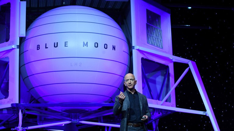 Jeff Bezo's Amazon will get a none-bid $10Billion DoD contract- Bezo owns Washington POST (anti USA  & #realDonaldTrump), Blue Origin (launch rockets) & Blue Moon (Moon Habitat) https://t.co/SCJ5PwytOL