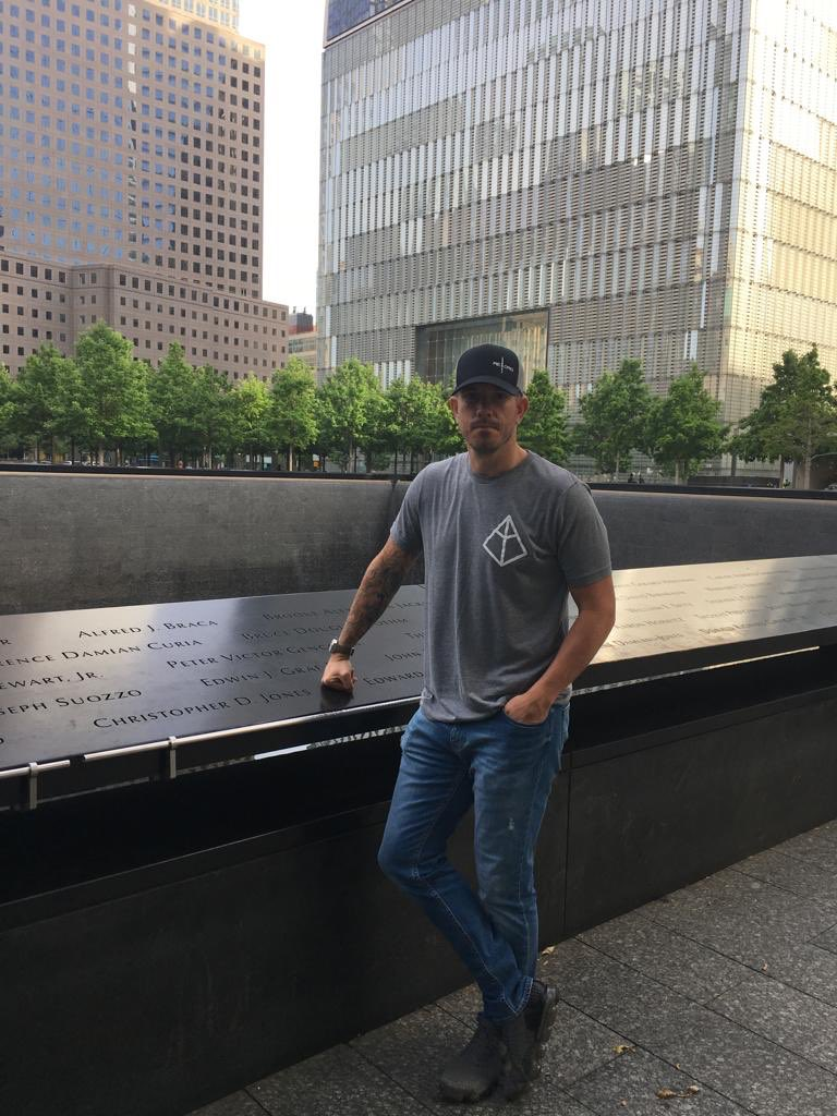 The World Trade Center is a significant place for those who want to pay tribute to the lives lost in the events of 9/11. So many emotions walking around the @911memorial museum. 🇺🇸🇬🇧