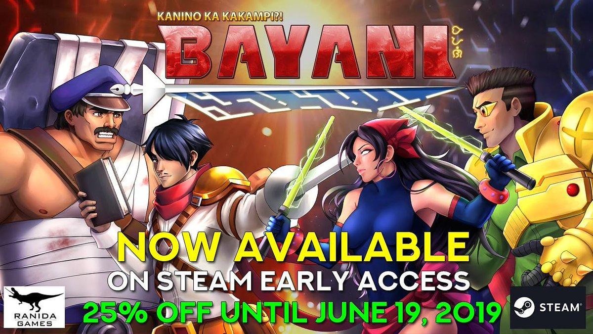 Bayani - Fighting Game on Twitter: