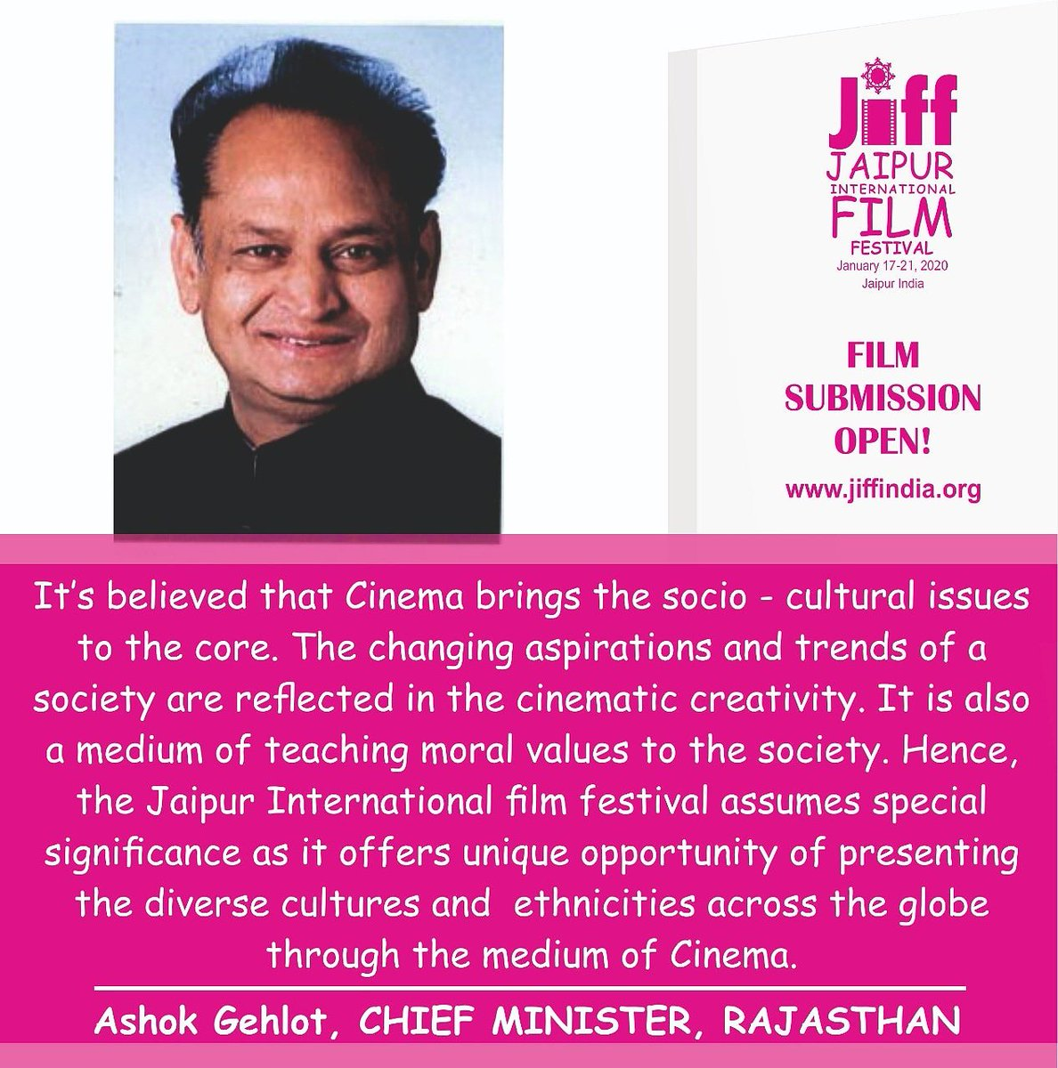 Throwback to JIFF2019 - Dr. B.D Kalla  For more details visit our website-  *http://Jiffindia.org * #website #websitedesign #details #blogs #Admin #blog #Cannes2019 #CannesFilmFestival #jiff #jiff2019 #jaipurinternationalfilmfestival #jaipurfilmfestival #Throwback