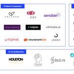 Image for the Tweet beginning: Our member startups @inscripta_io, @mvisionai