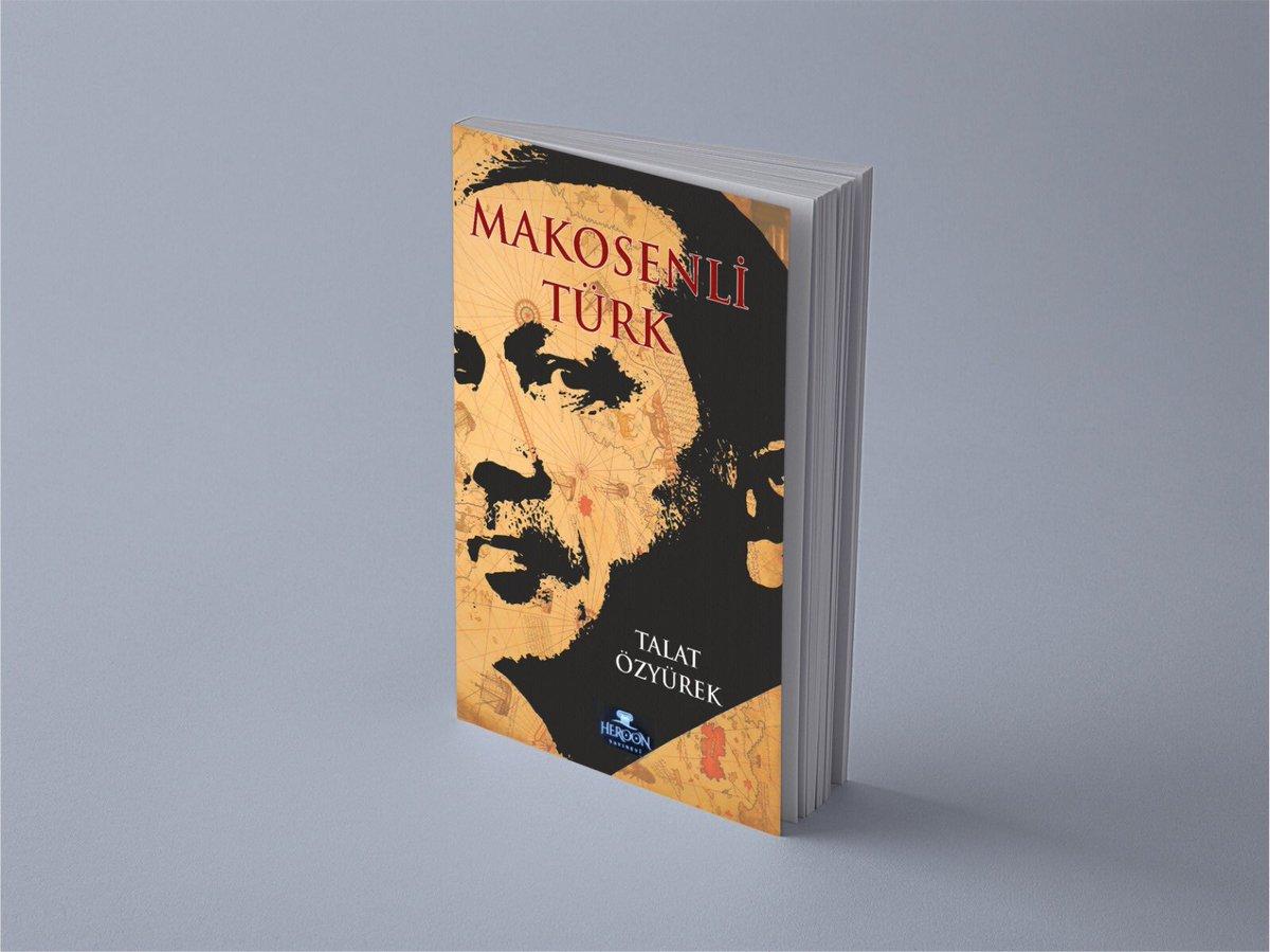 """Yaklaşık 2,5 yılın emeği """"Makosenli Türk"""" matbaadan bugün çıktı. Pazartesi tüm kitapçılarda... Okumanız temennisiyle."""