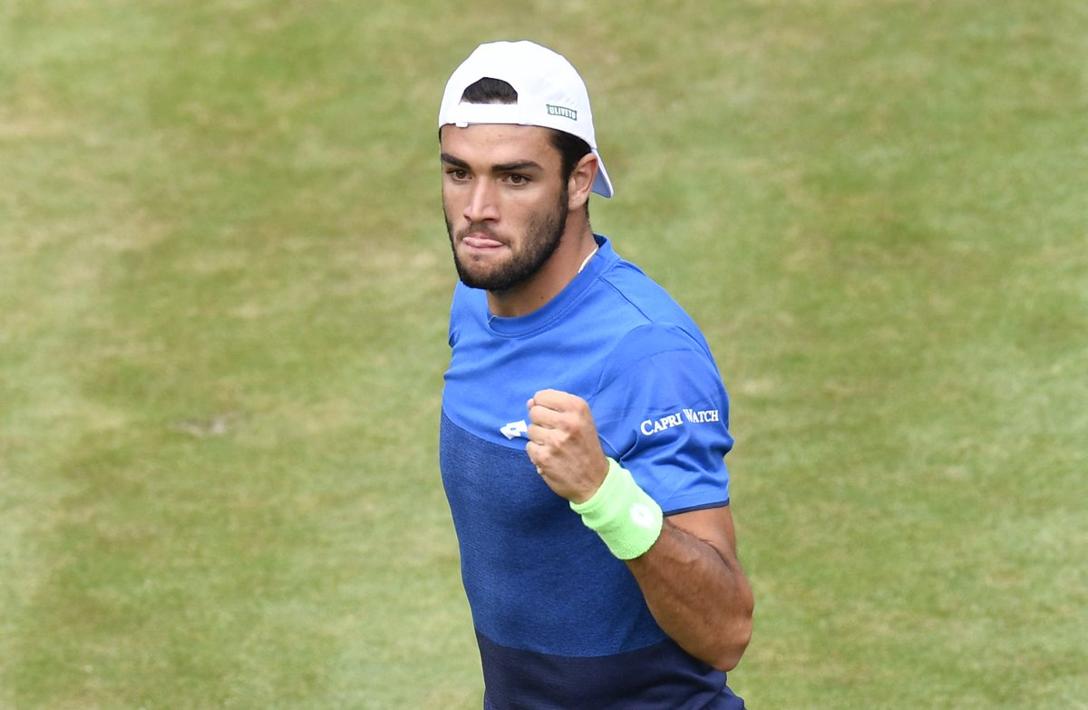 Brilliant from Berrettini   The Italian defeats Struff 6-4, 7-5 to make his third #ATPTour final of 2019   #MercedesCup<br>http://pic.twitter.com/fZ0sCCiFWw