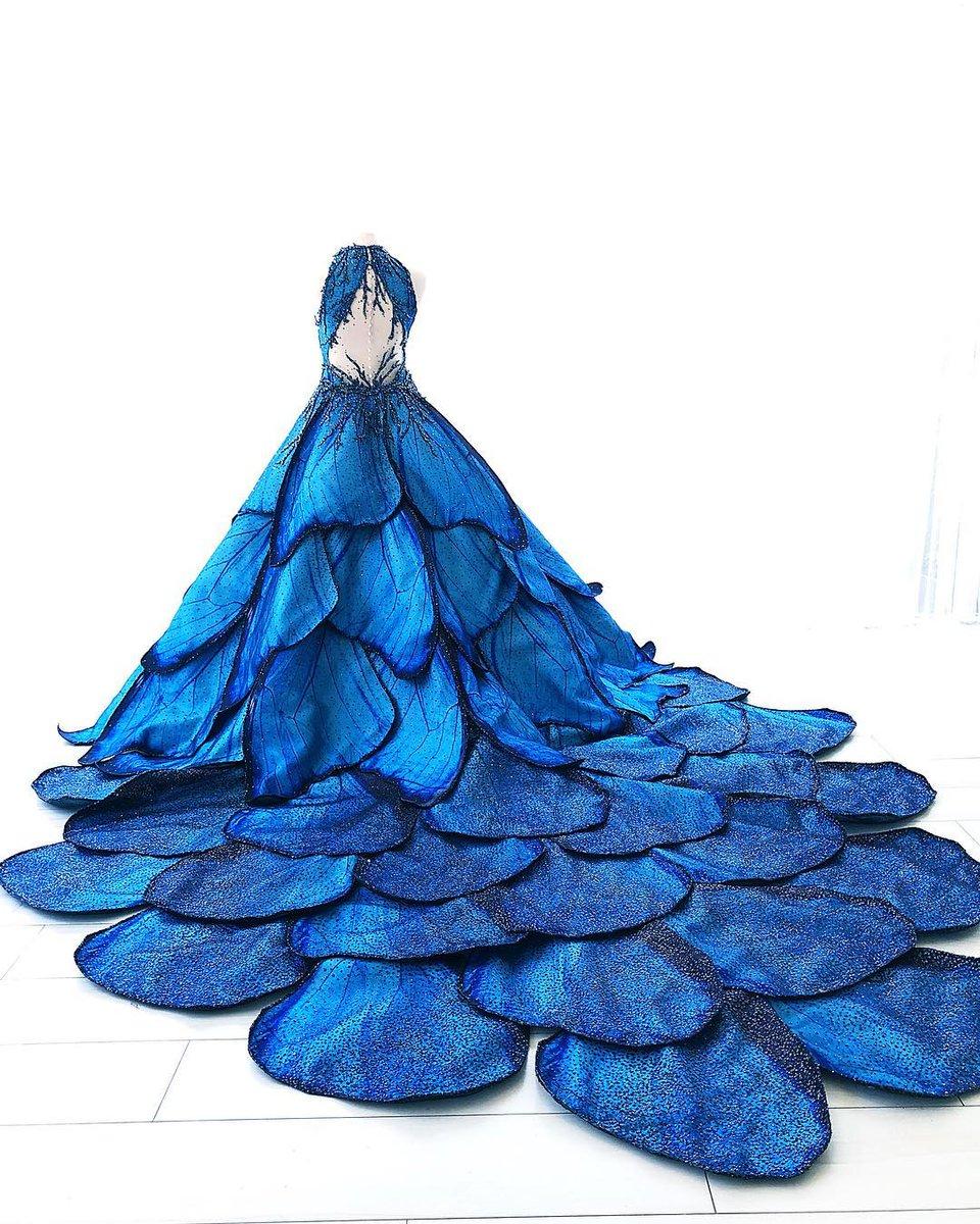 blue morpho by mak tumang