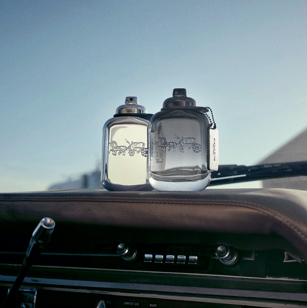 Inspired by all-American dreamers, our two men's fragrances #CoachPlatinum and #CoachforMen capture the energy of the open road. http://on.coach.com/MenFragrance #CoachNY