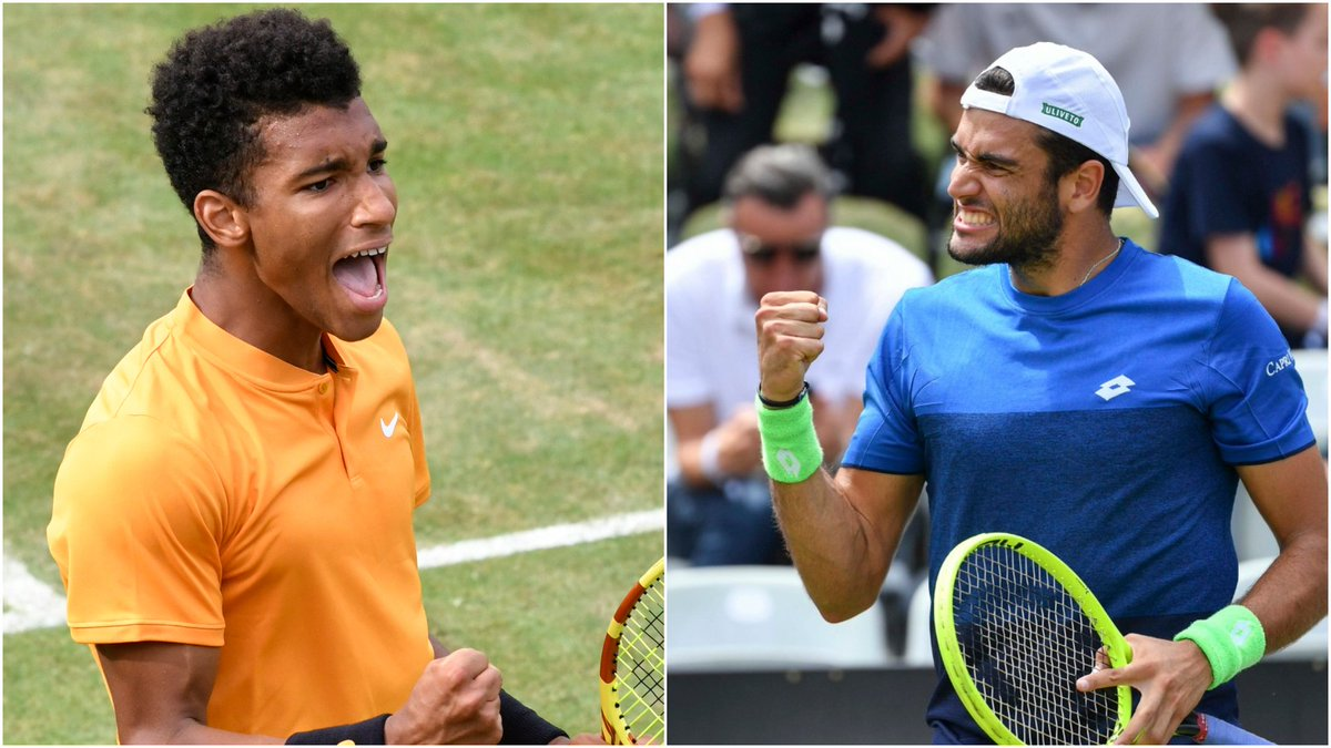 It's Felix v. Matteo for the Stuttgart 🏆  Who's claiming the #MercedesCup title in 2019? 👇