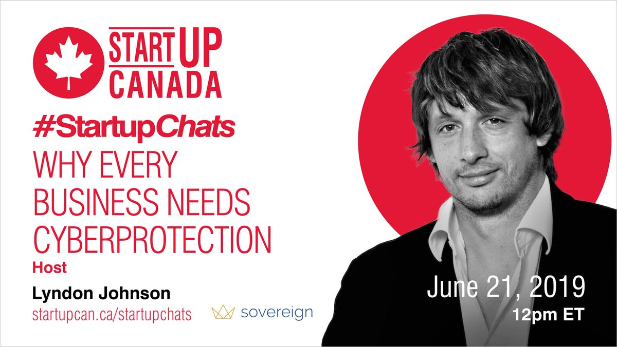 What are some available cyber protection tools? How do they help protect your business? Join us during #StartupChats w/ @SovInsurance at 12pm ET on June 21st to dive into why every business needs cyber protection. Register now: http://ow.ly/IpeV30nQBM7
