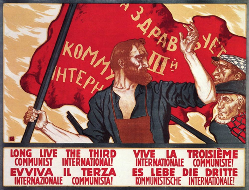 100 years of the Communist International: The declaration of Moscow international conference  https://www. idcommunism.com/2019/06/100-ye ars-of-communist-international-the-declaration-of-moscow-conference.html  …    #Communist_International #History #Socialism #Communism #USSR #Russia<br>http://pic.twitter.com/TBBZSCY9Yz