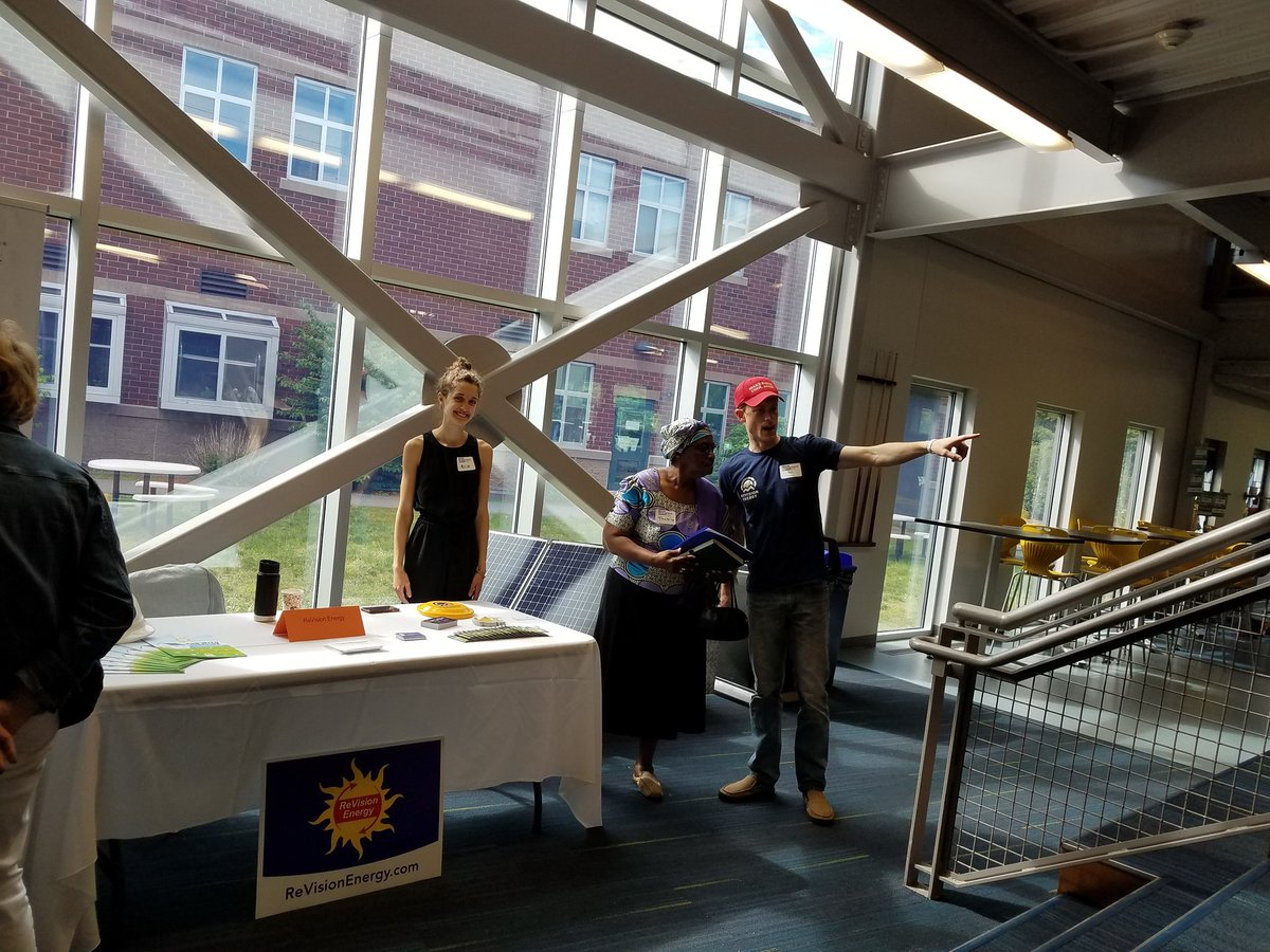 @revisionsolar is also at the #NHProgressiveSummit with our good friend @DemocracyDan.  #GoSolar.<br>http://pic.twitter.com/j8rOiSJiXr