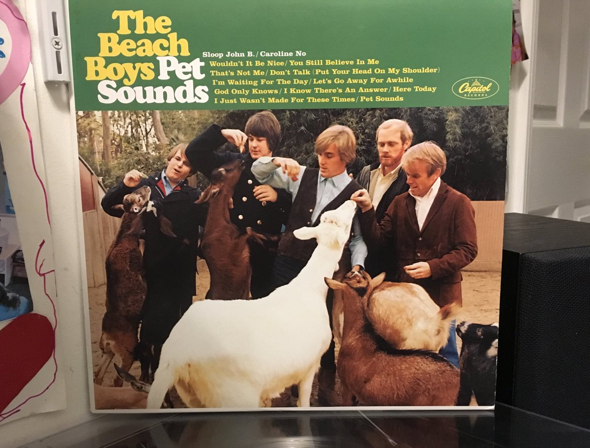 Saturday Morning Coffee with this Masterpiece. @BrianWilsonLive @TheBeachBoys @MikeLoveOFCL @ESQmagEditor #PetSounds