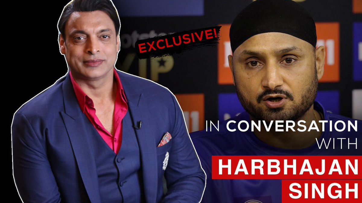 Harbhajan Singh Taught me How to Bowl says Shoaib Akhtar | Pakistan vs India | World Cup 2019 youtu.be/tb8zcGhuU-I